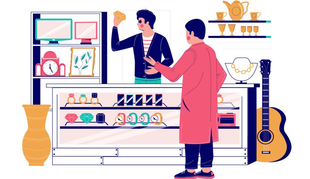 ブランド買取店の画像