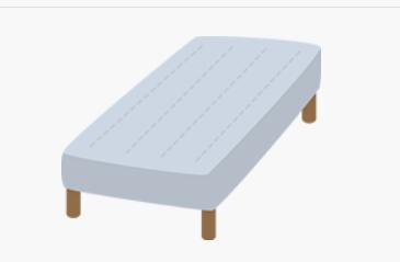 ベッドの画像